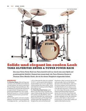 Tama Silverstar Drums & Tower Power Rack