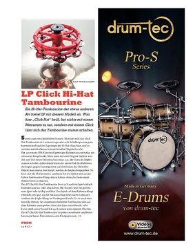 LP Click Hi-Hat Tambourine