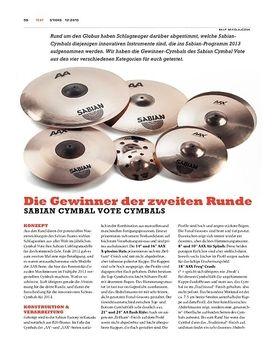 Sabian Cymbal Vote Cymbals