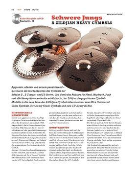 A Zildjian Heavy Cymbals