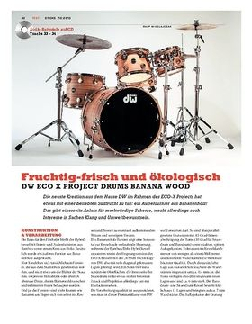 DW Eco-X Project Drums