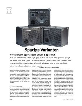 Glockenklang Space, Space Deluxe & Space Art, Bass-Boxen