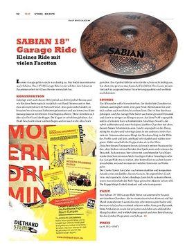 """SABIAN 18"""" Garage Ride"""