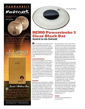 REMO Powerstroke 3 Clear Black Dot