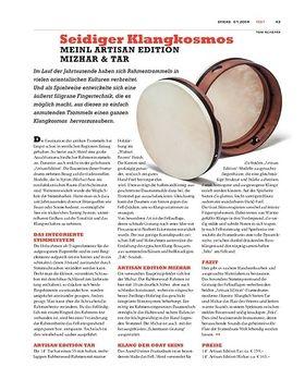 Meinl Artisan Edition Mizhar & Tar