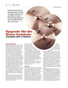 Zildjian ZBT Cymbals - Weitere Modelle in der Einsteigerklasse