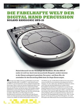 Test: Roland Handsonic HPD-20