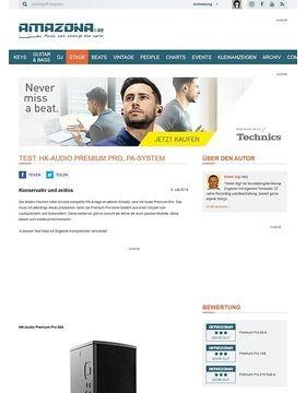 Test: HK-Audio Premium Pro, PA-System