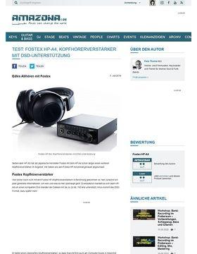 Test: Fostex HP-A4, Kopfhörerverstärker mit DSD-Unterstützung