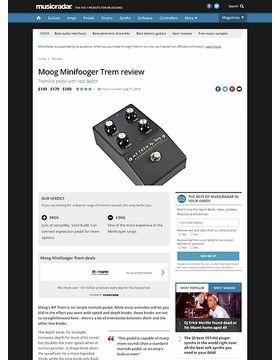 Moog Minifooger Trem