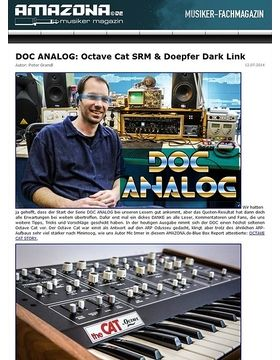 DOC ANALOG: Mission Octave Cat SRM & Doepfer Dark Link