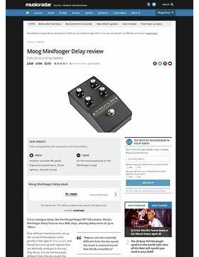Moog Minifooger Delay