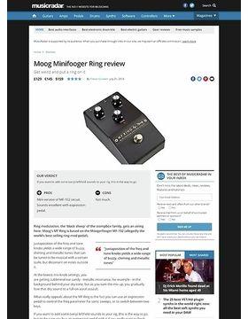 Moog Minifooger Ring