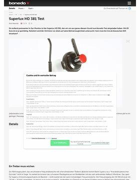 Superlux HD 381