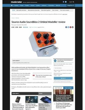Source Audio Soundblox 2 Orbital Modeller