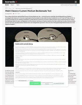 Meinl Classics Custom Medium