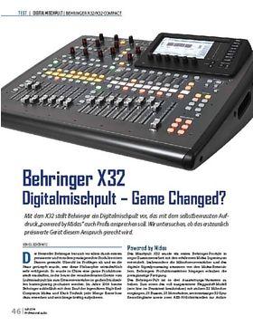 Behringer X32