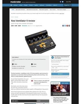 Neo Ventilator II
