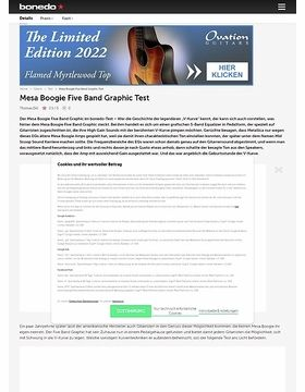 Mesa Boogie Five Band Graphic