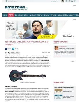 Test: Music Man John Petrucci Majesty 6 , E-Gitarre