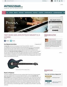 Test: Music Man John Petrucci Majesty 6 AD, E-Gitarre