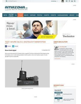 Test: Shure QLX-D, Digitales Funksystem