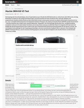 Mackie SRM450 V3 Test