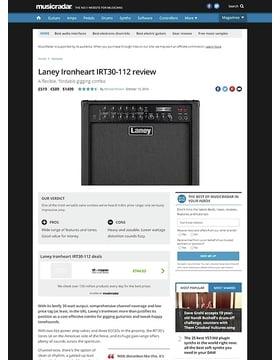 Laney Ironheart IRT30-112