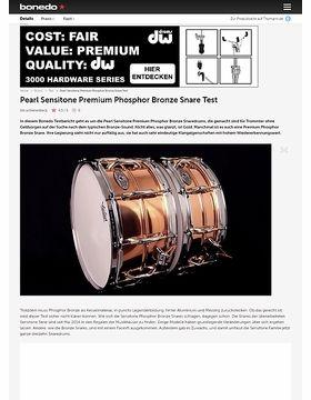Pearl Sensitone Premium Phosphor Bronze Snare