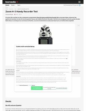 Zoom H-5 Handy Recorder