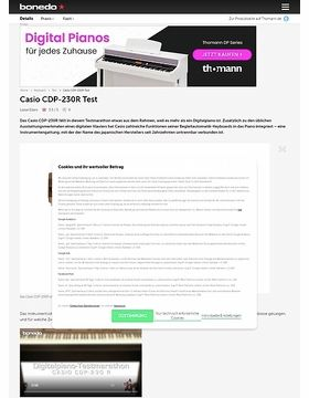 Casio CDP-230R