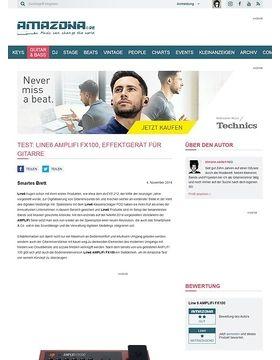 Test: Line6 AMPLIFi FX100, Effektgerät für Gitarre