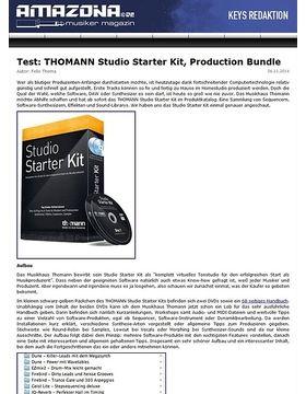 Test: THOMANN Studio Starter Kit, Production Bundle