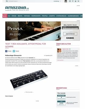 Test: T-Rex Soulmate, Effektpedal für Gitarre