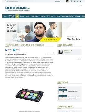 Test: Reloop Neon, MIDI-Controller