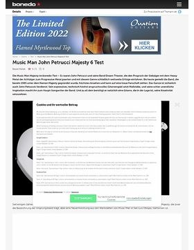Music Man John Petrucci Majesty 6