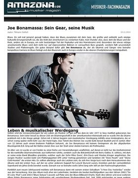 Report: Gitarristen, die Geschichte mach(t)en - Joe Bonamassa