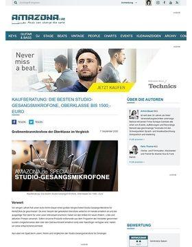 Special: Studio-Gesangsmikrofone Teil 3, Oberklasse bis 1500,- Euro