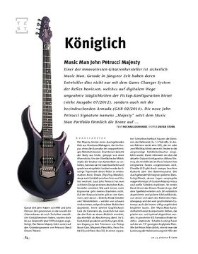 Music Man John Petrucci Majesty