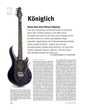 Music Man John Petrucci Majesty