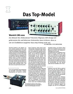 Warwick LWA 1000 Top, Bass-Topteil