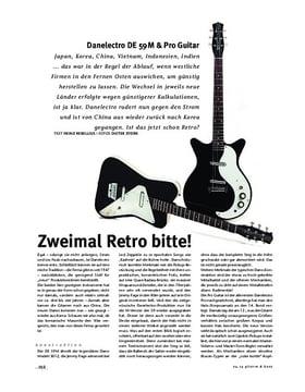 Danelectro DE 59M & Pro Guitar, E-Gitarren