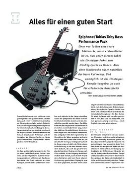 Epiphone/Tobias Toby Bass Performance Pack