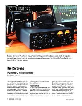SPL Phonitor 2 - Kopfhörerverstärker
