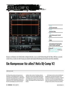 Hofa IQ-Comp V.2 - Kompressor-Plug-in
