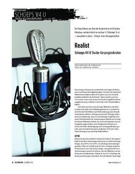 Schoeps V4 U - Studio-Gesangsmikrofon