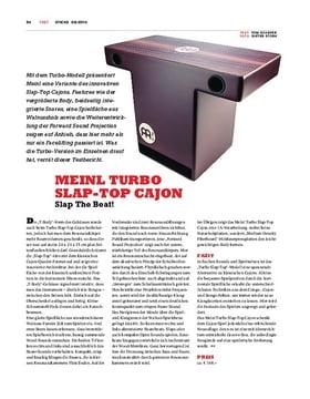 Meinl Turbo Slap-Top Cajon