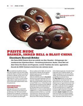 Paiste Rude Cymbals