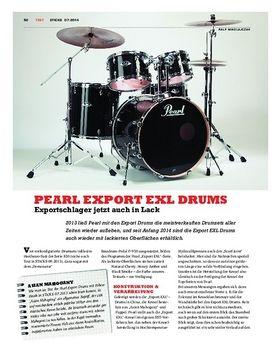 Pearl Export EXL Drums