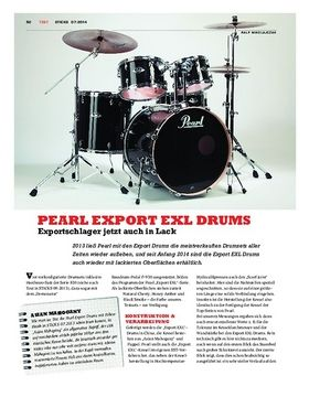 Pearl Export EXL Drums